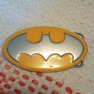 Glow-in-the-Dark Batman Belt Buckle